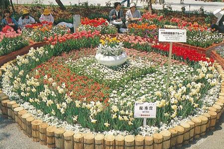 花博のテーマは、花と緑と人間生活の関わりをとらえ、21世紀に向けて潤いのある豊かな社会の創造