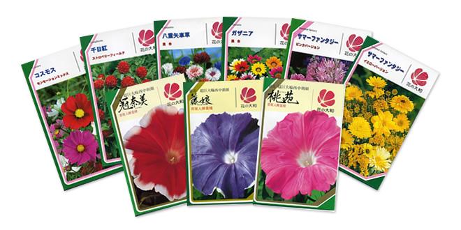 草花の種子
